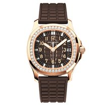 Patek Philippe 5068R-001 Rose Gold Ladies Aquanaut 35.6mm [NEW]