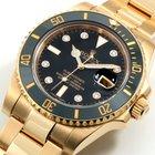 Ρολεξ (Rolex) 18K YG Ceramic Submariner Factory Diamond Dial...