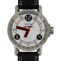 B.R.M Racing Watch Auto Rotor Quartz Timing Hybrid White Dial...