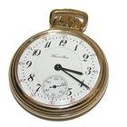 Hamilton 10k Gold Filled 23 Jewel  Pocket Watch Model #950...