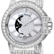 Harry Winston Ocean Lady Moon Phase 36mm oceqmp36ww019