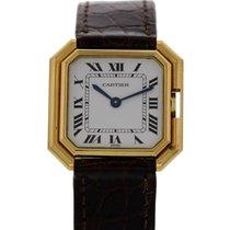 Cartier Paris Vintage 18K Yellow Gold Watch