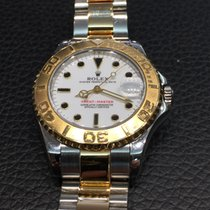 Rolex Yacht Master yellow gold and steel ref.68623 Medium