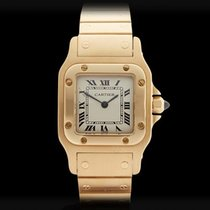 Cartier Santos Galbee 18k Yellow Gold Ladies 0553
