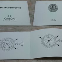 Omega vintage booklets instructions caliber 1151 good condition