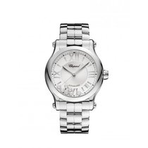 Chopard Ladies 278559-3002 Happy Sport 36 mm Auto Steel and...