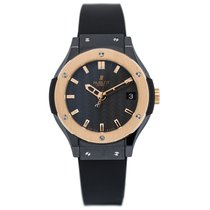Hublot Fusion Quartz Ceramic 33mm Mens Watch