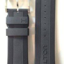 Hamilton Seaview Kautschukarmband schwarz 24mm H600.377.100