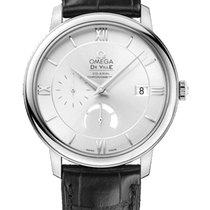 Omega DeVille Prestige Power Reserve Silver Dial Men's Watch
