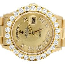 Rolex Mens Rolex Presidential 18K Yellow Gold 36MM Day-Date...