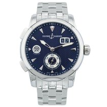 Ulysse Nardin Dual Time Blue Dial Automatic