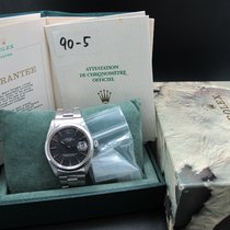 Rolex OYSTER DATE 1500 Original Matt Black Dial with Papers
