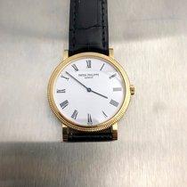 Patek Philippe Calatrava 5120j 18k Yellow Gold Watch Previousl...