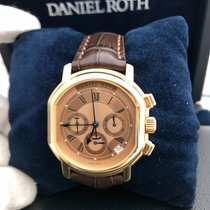 Daniel Roth 18k Rose Gold Mens Watch Pre Owned Complete Set...