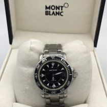 Montblanc Meisterstück Steel Quartz Watch 34 Mm Ref 7036