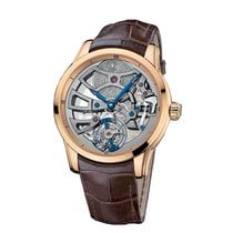 Ulysse Nardin Skeleton Tourbillon Manufacture 18K Rose Gold...