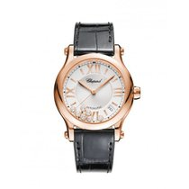 Chopard Ladies 274808-5001 Happy Sport 36 mm Auto Watch