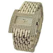 Chopard 109224-1001 Rectangle Haute Horlogerie in White Gold...