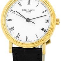 "Patek Philippe Gent's 18K Yellow Gold  Ref # 3802 ""Cal..."