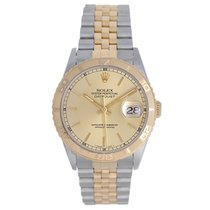 Rolex Men's Rolex Turnograph 2-Tone Steel & Gold Watch...