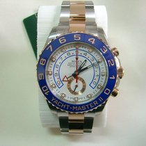 Rolex Yachtmaster II 116681, Steel & Pink gold, New