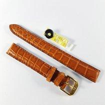 Wempe 13mm brown alligator leather strap Kaufmann & buckle