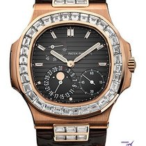 Patek Philippe Nautilus Moon Face After set diamonds - 5712/R-001