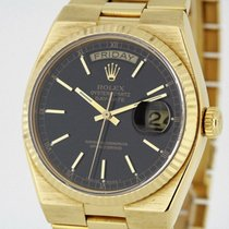 Rolex Day-Date Oysterquartz 19018 solid 18K Yellow Gold Watch...