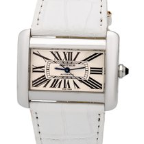 カルティエ (Cartier) Tank Divan Stainless Steel Large Automatic...