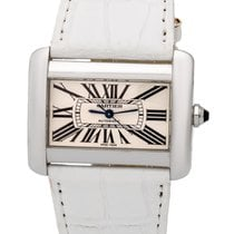 Cartier Tank Divan Stainless Steel Large Automatic Ladies...