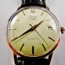 Lorenz manuale anni '60 uomo oro 750