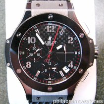 Hublot Big Bang Chronograph Carbon Fiber Dial Ceramic Bezel