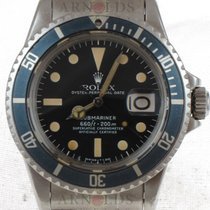 Rolex 1973 Vintage Submariner MK1 Black Dial With Creamy Patina