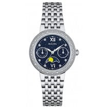 Bulova Ladies 96W210 Diamonds Watch