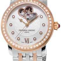 Frederique Constant World Heart Federation Steel RG Womens...