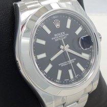 Rolex Datejust II 116300 41mm Smooth Bezel Stainless Steel...