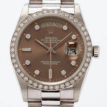 Ρολεξ (Rolex) Day-Date Ref. 18046 Platinum with Papers (LC100)