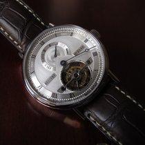 Breguet Classique Complications Black Strap Grey Dial 5317pt129v6