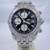 Breitling Windrider Chronomat Evolution Stainless Steel...