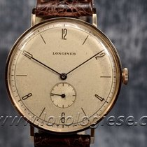 Longines Coin Edge Calatrava 18 Kt Red Gold Watch 37,3mm 1941...