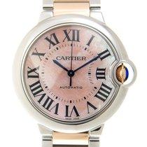 Cartier Ballon Bleu Stainless Steel Pink Automatic W2BB0011