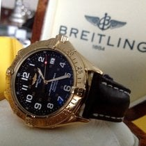 Breitling SuperOcean Yellow Gold 18 krt / 42 mm (Full Set)
