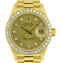 Rolex Datejust President 18k with Original Diamond Dial/Bezel