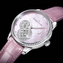 Maurice Lacroix Masterpiece Square Wheel Pink Pearl Limited...