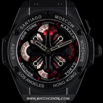 Hublot Ceramic Unworn King Power Unico GMT B&P 771.CI.1170.RX