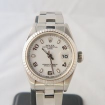 Rolex Date Oyster Perpetual White Gold Bezel Ref. 69174