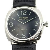 Panerai New  Radiomir Stainless Steel Black Manual Wind PAM00610