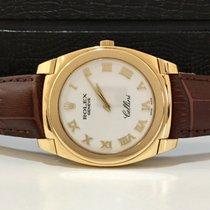 Rolex Cellini Cestello 36mm 2009 Ouro Amarelo 18k