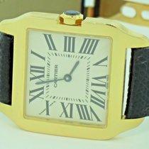 Cartier Santos Dumont 18K Solid Yellow Gold