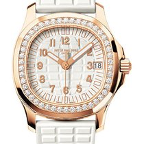 Patek Philippe Aquanaut Luce Ladies White Dial Diamond Bezel